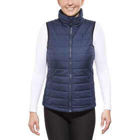 axant Alps Quilt Weste Damen dark blue